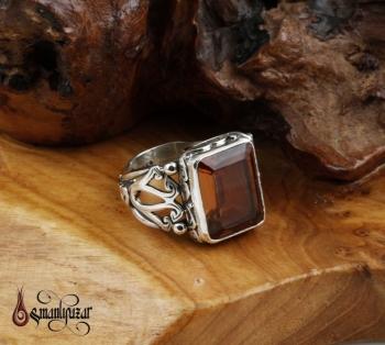 Zultanit Taşlı 925 Ayar Gümüş Yüzük - Thumbnail